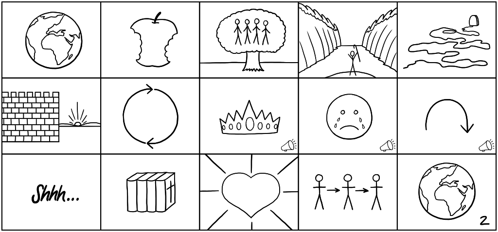15 Simple Bible StoryBoards
